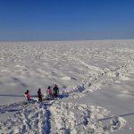 知床流氷ウォークと釧路湿原スノーシュー