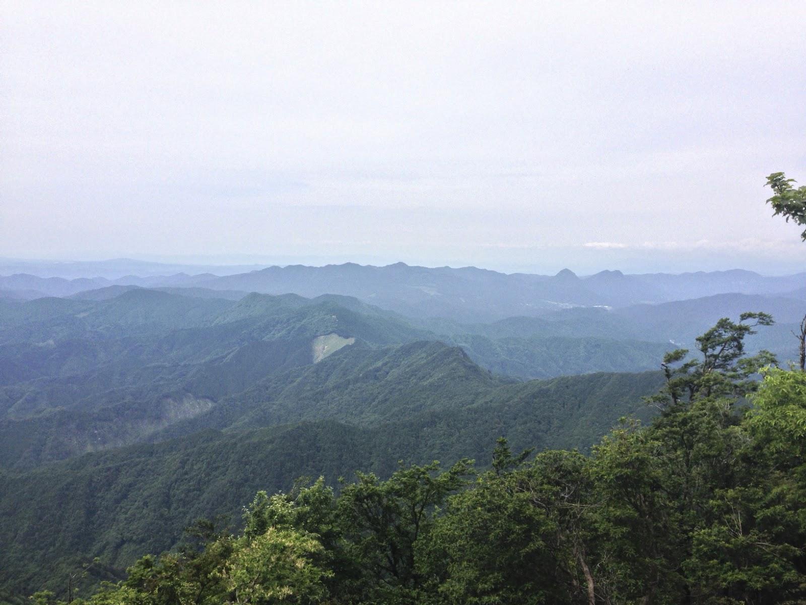 高見山からの展望