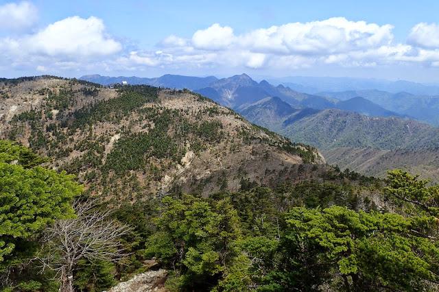 大峰最高峰 八経ヶ岳