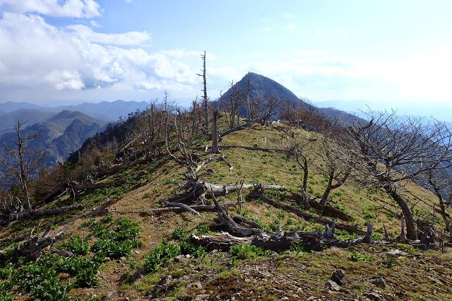 大峰山 釈迦ヶ岳