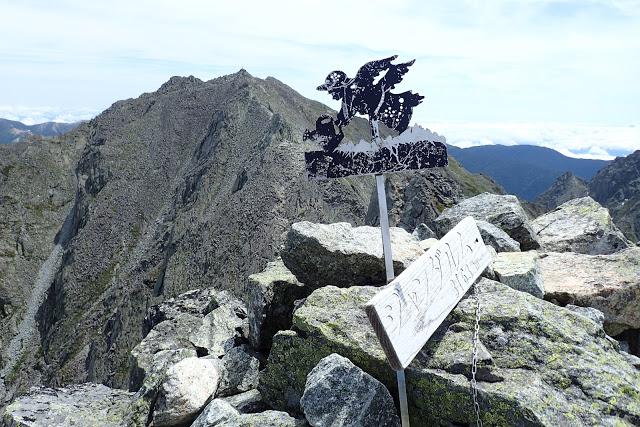 ジャンダルム山頂