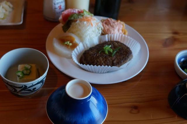 槍ヶ岳山荘夕食