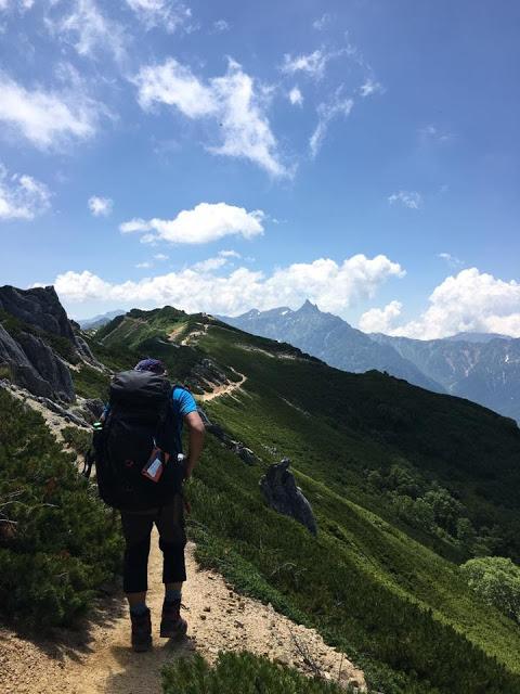 燕岳から大天井岳