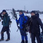 大日ヶ岳のスノーシュー登山と雪山レイヤリング