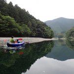 古座川支流  小川をカヤック(カヌー)で下る