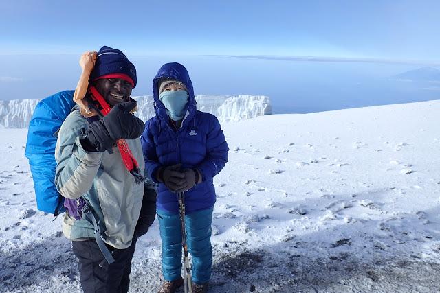 キリマンジャロ山頂