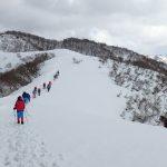 三十三間山 スノーハイキング