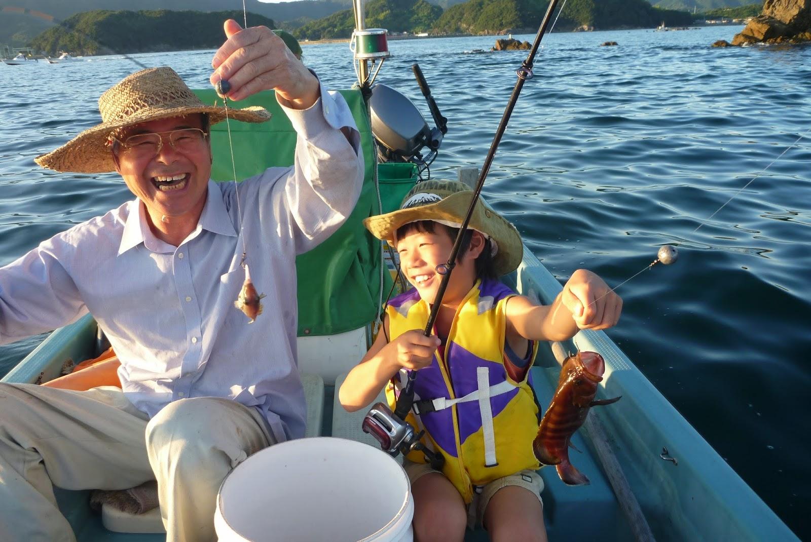宿毛湾で釣り