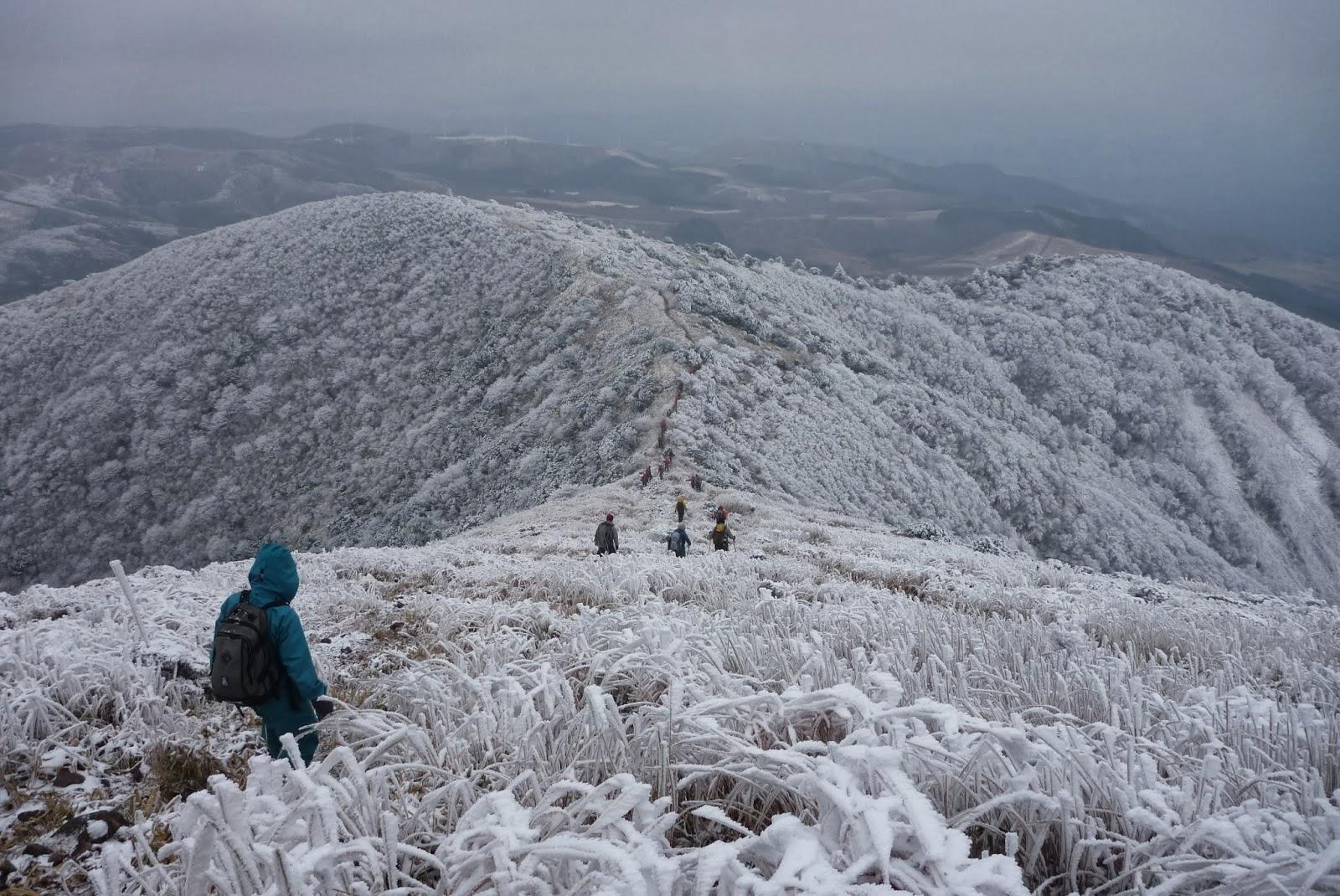 雪の涌蓋山