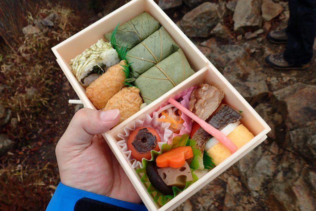 柿の葉寿司弁当