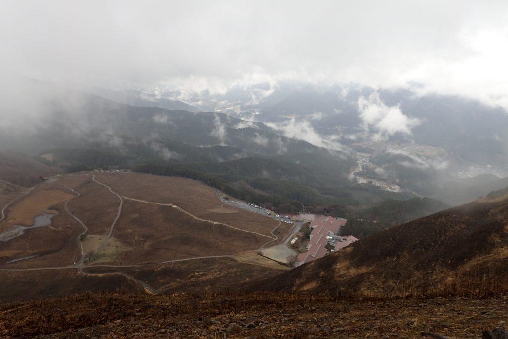 春の曽爾高原