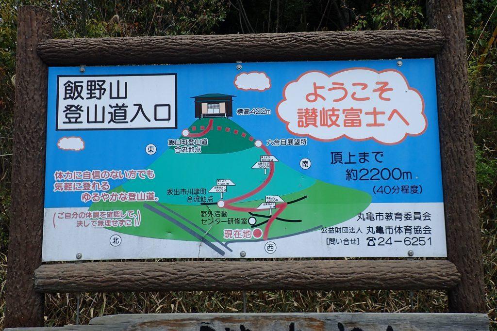 飯野山登山コース
