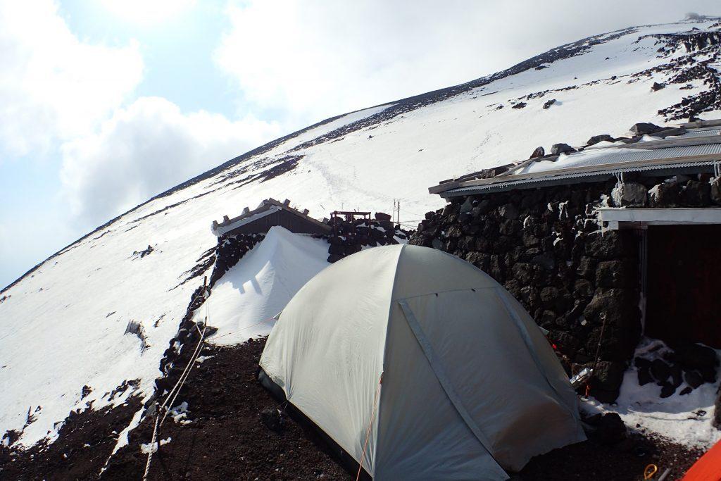 雪の富士宮 七合五尺