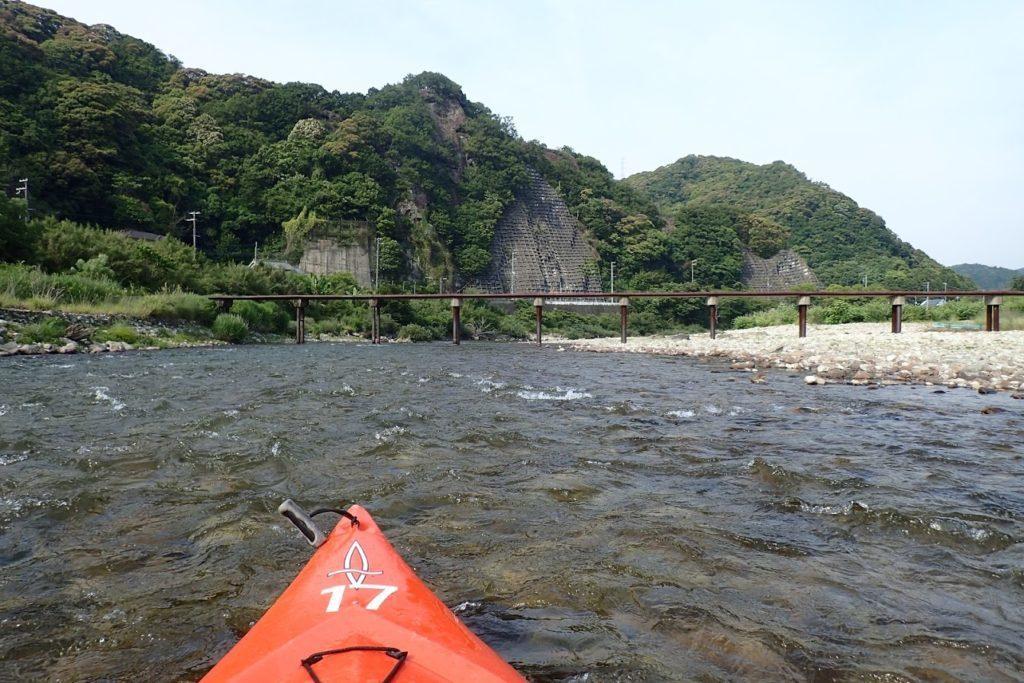 古座川 潜水橋