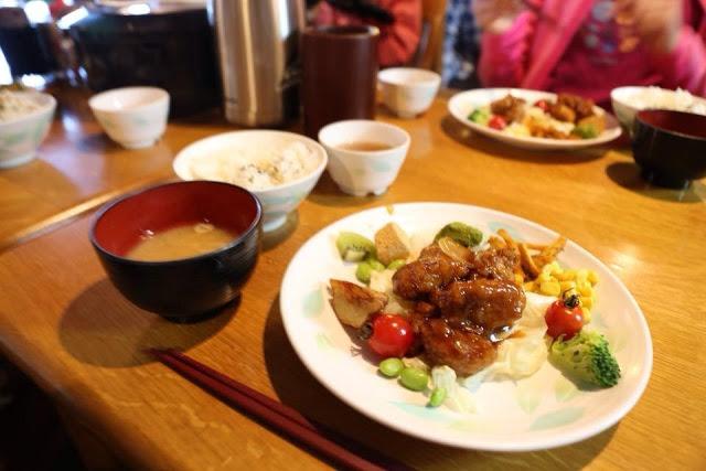 槍ヶ岳山荘 食事
