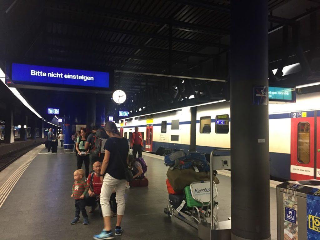 チューリッヒ空港駅