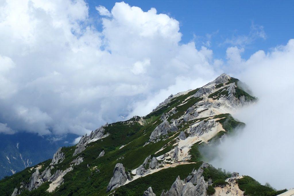 燕山荘からの燕岳