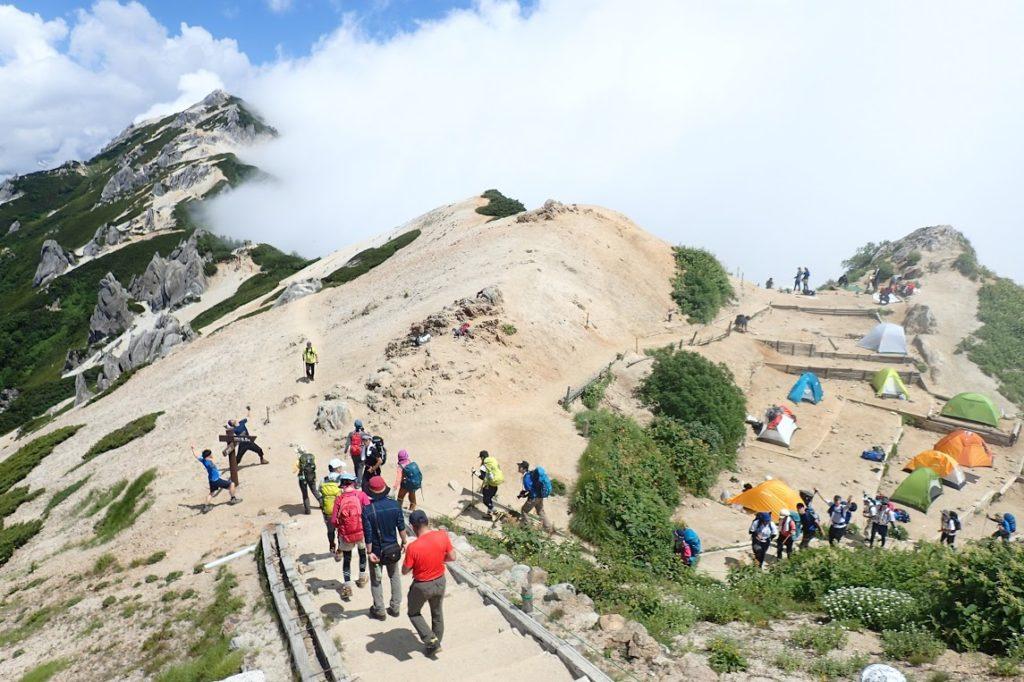 燕岳から槍ヶ岳 表銀座縦走コースを歩いてきた