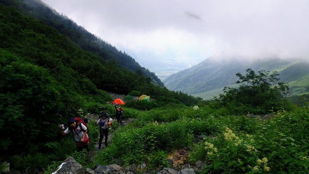 岳沢キャンプサイト