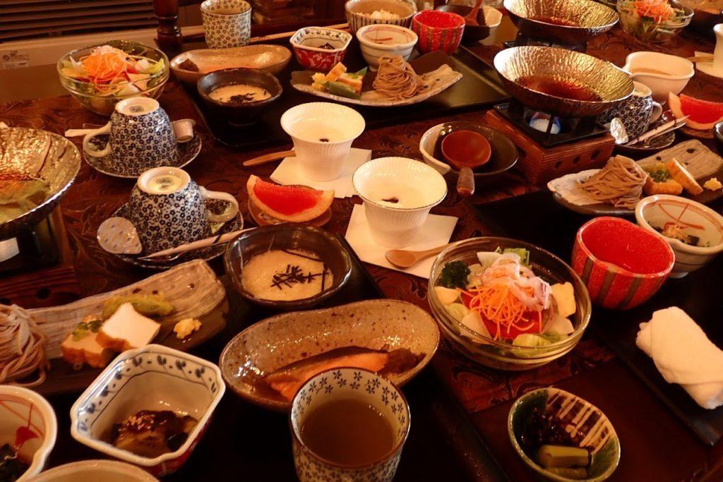 王ヶ頭ホテル朝食