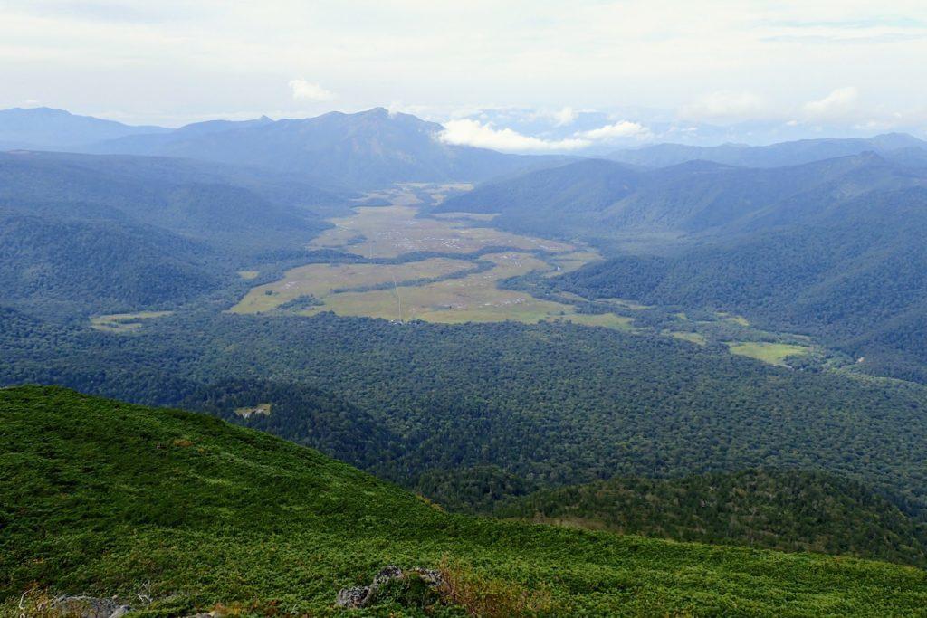 燧ケ岳からの尾瀬ヶ原