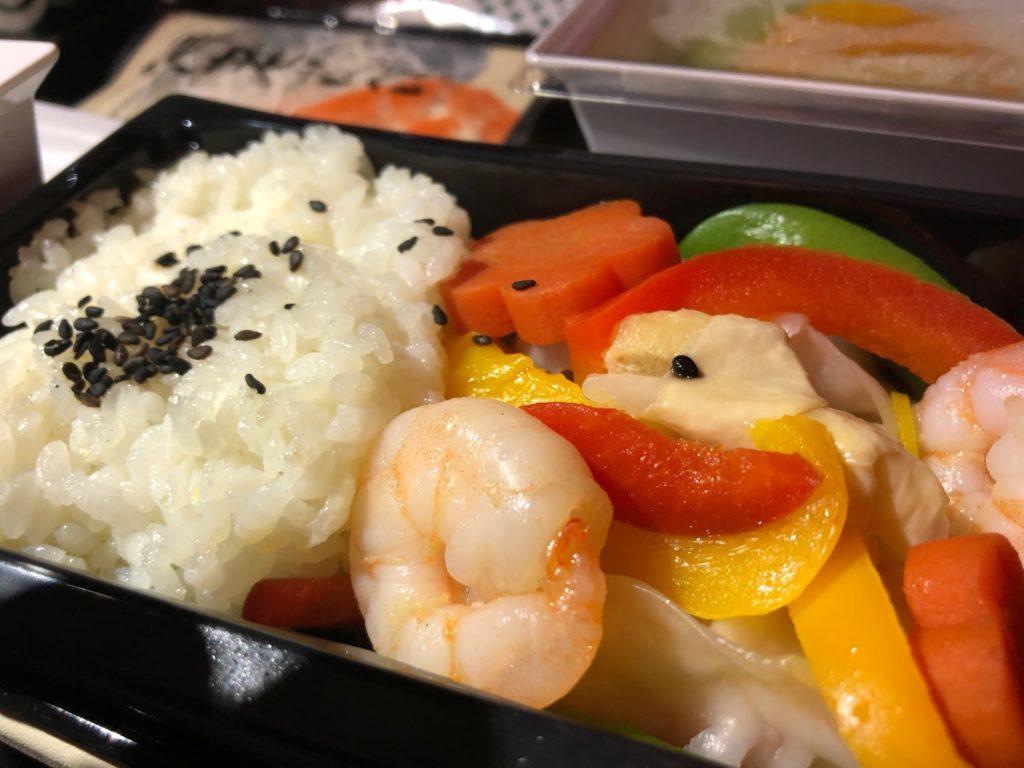 エティハド航空の機内食