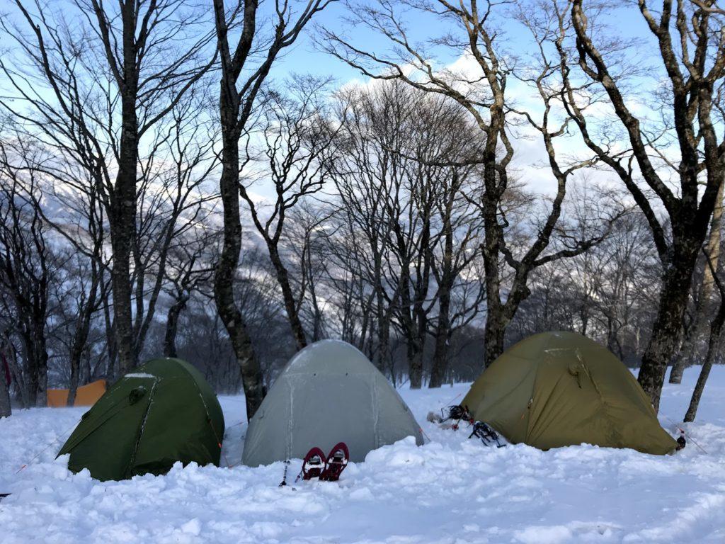 大日ヶ岳テント泊