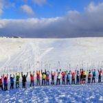 王ヶ頭ホテルに泊まる美ヶ原スノーシューハイキング