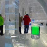 しかりべつ湖コタンは氷上の別世界