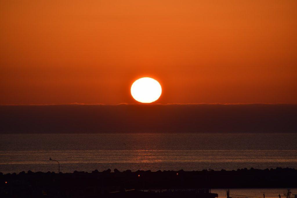 羽幌の夕日