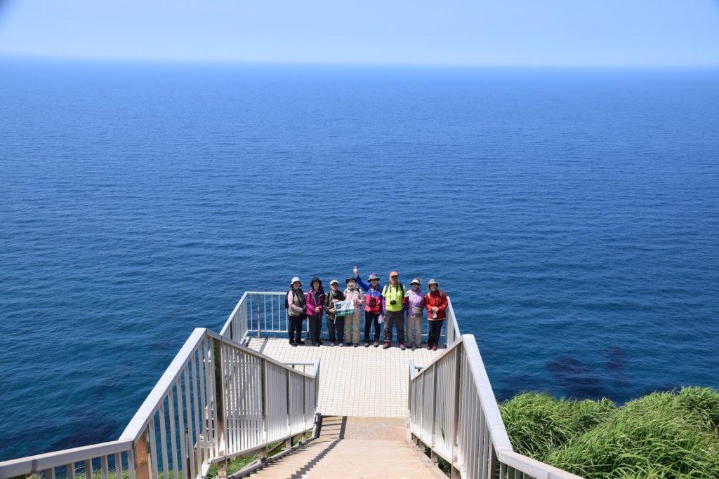 天売島 赤岩展望台