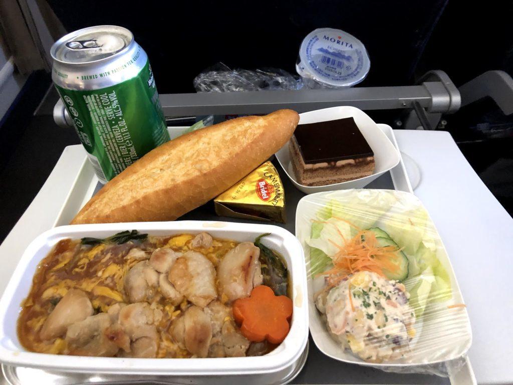 エール・フランス機内食