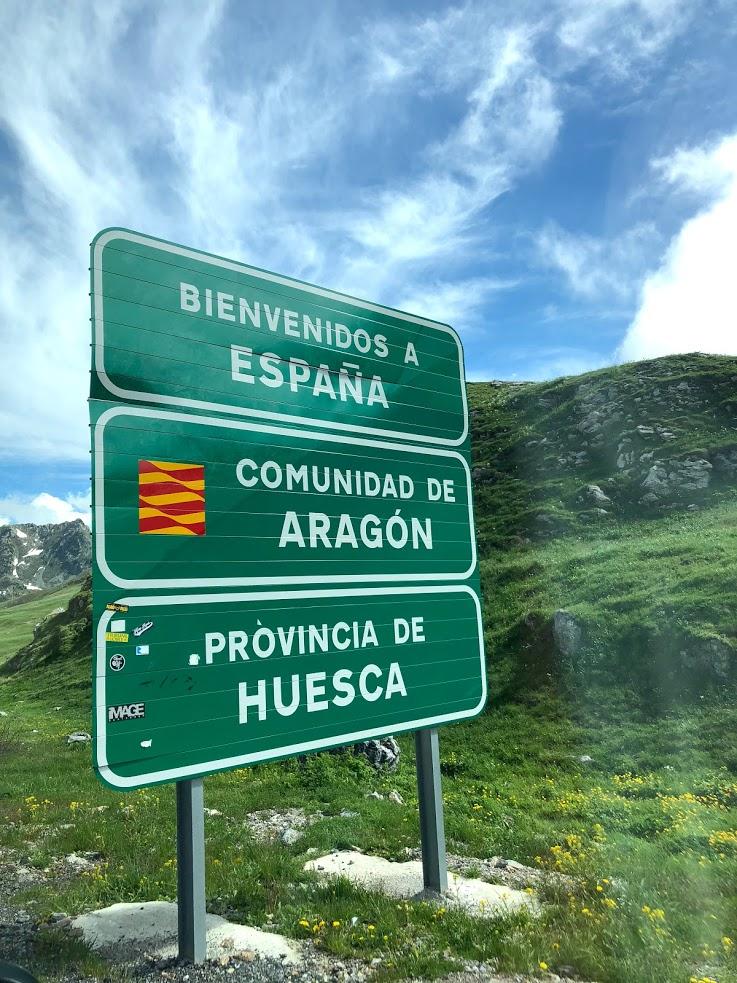 スペイン国境