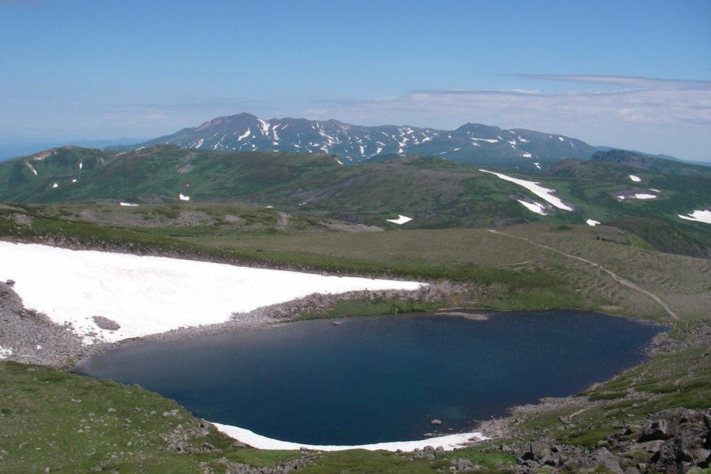 トムラウシ山からの大雪山