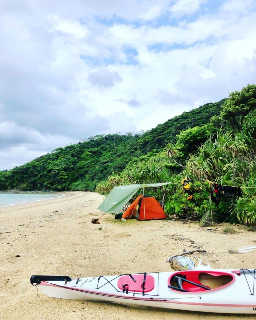 加計呂麻島 シーカヤック&キャンプ