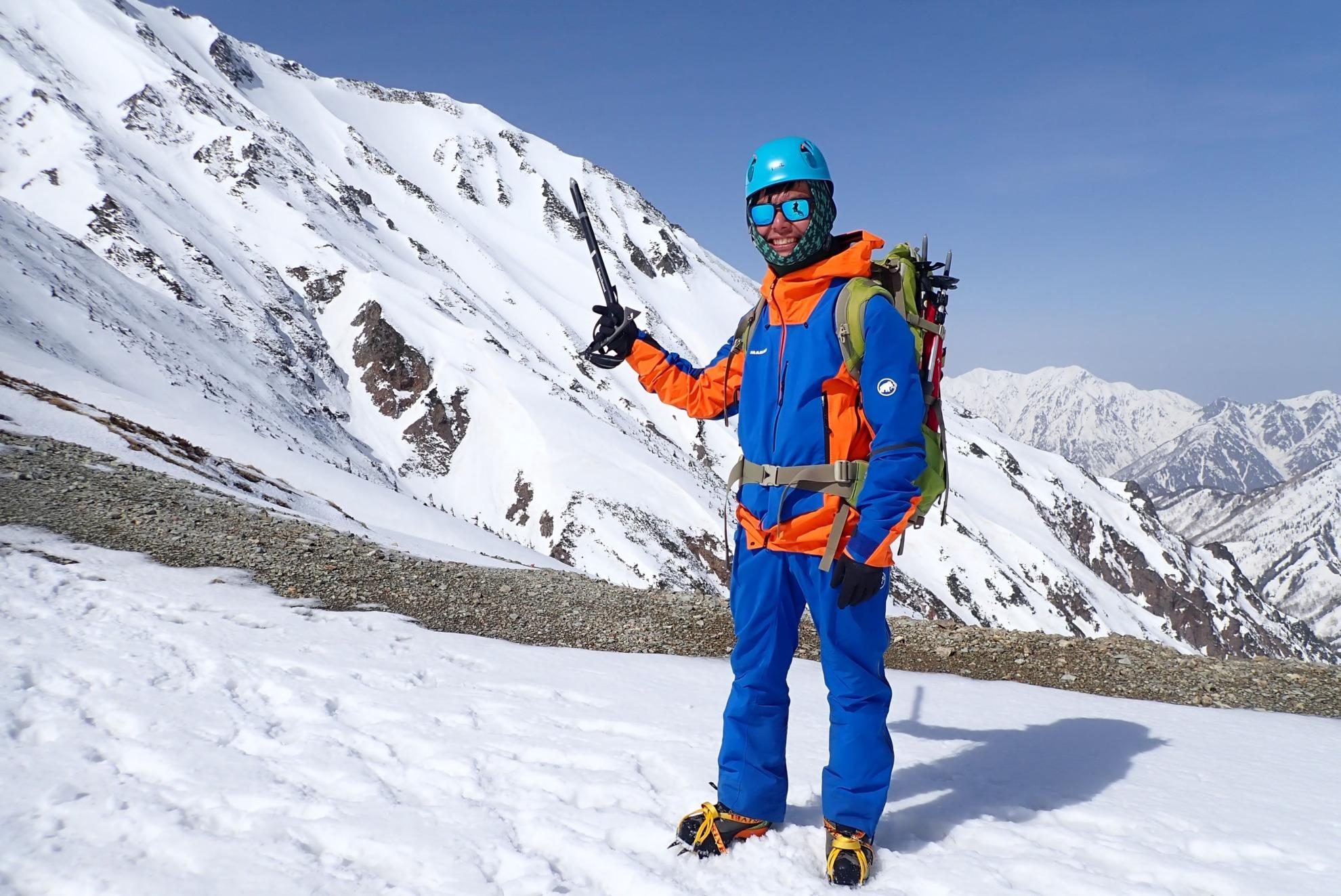 雪山五竜岳の装備&ウェア