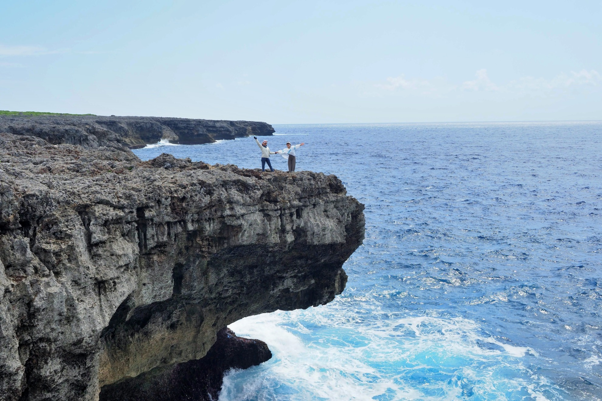 波照間島 断崖絶壁