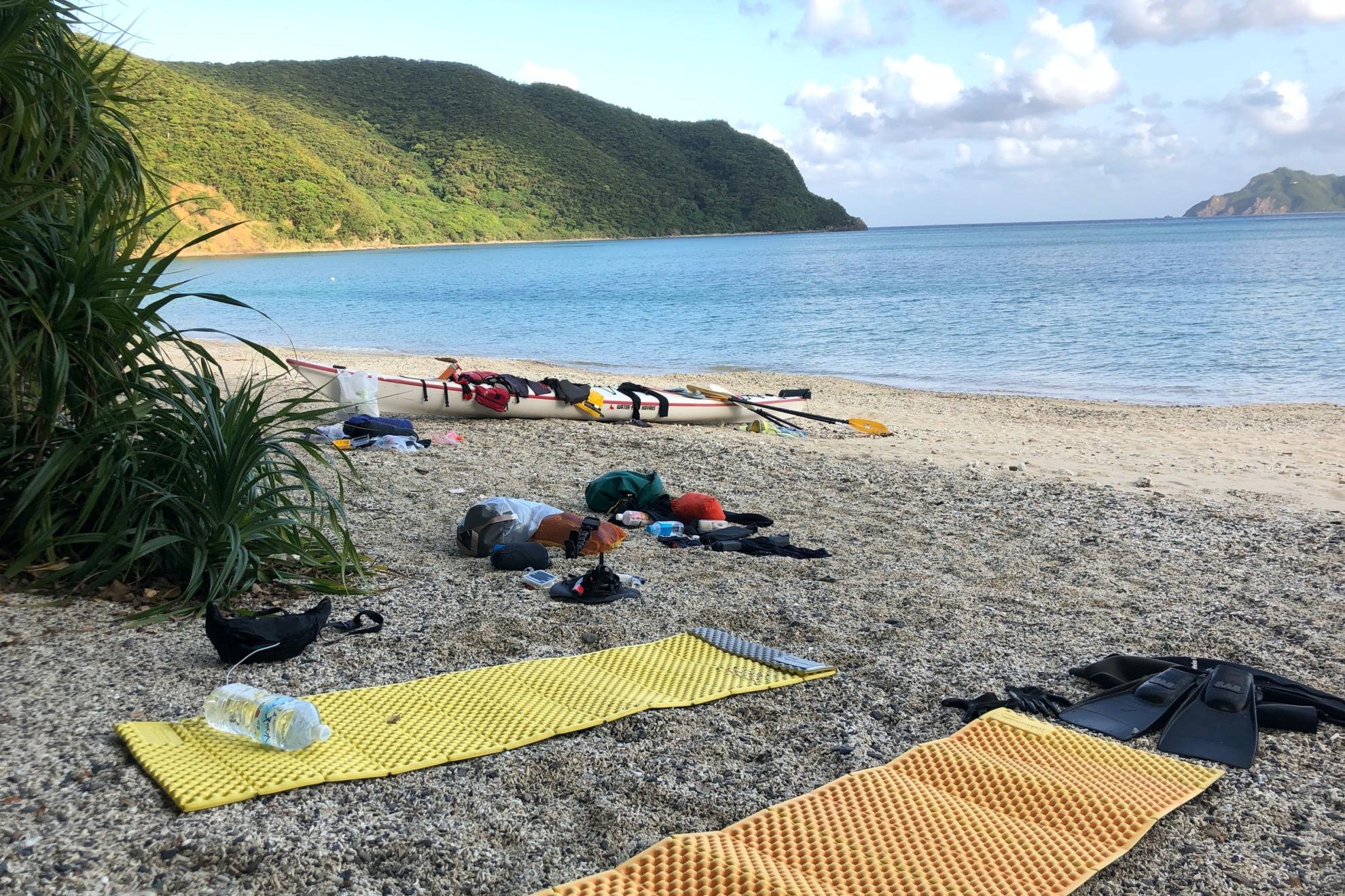 奄美大島 ワイルドキャンプ