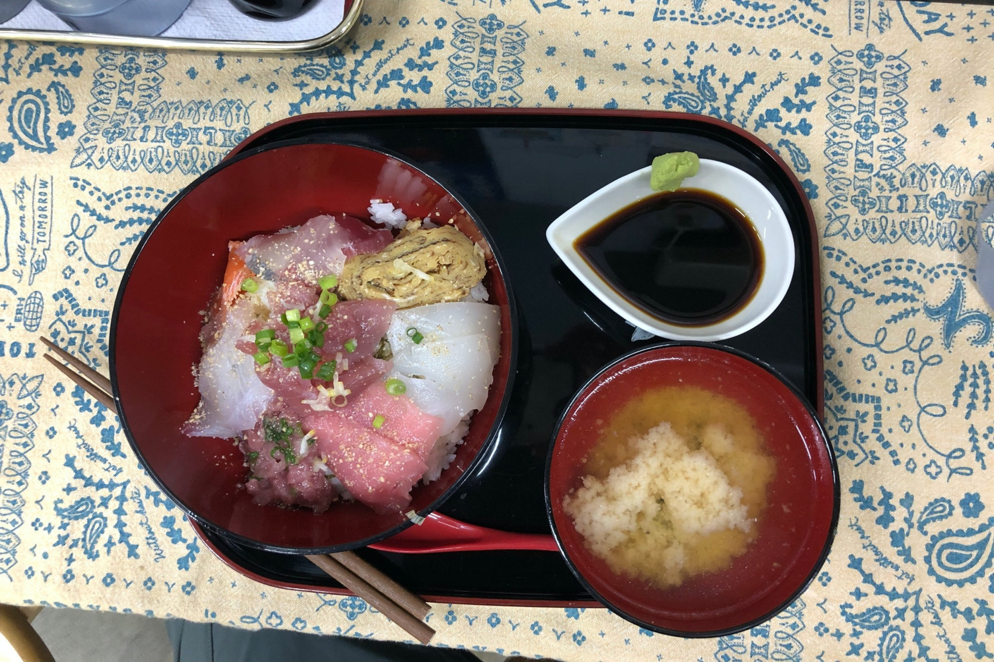 奄美大島の海鮮丼