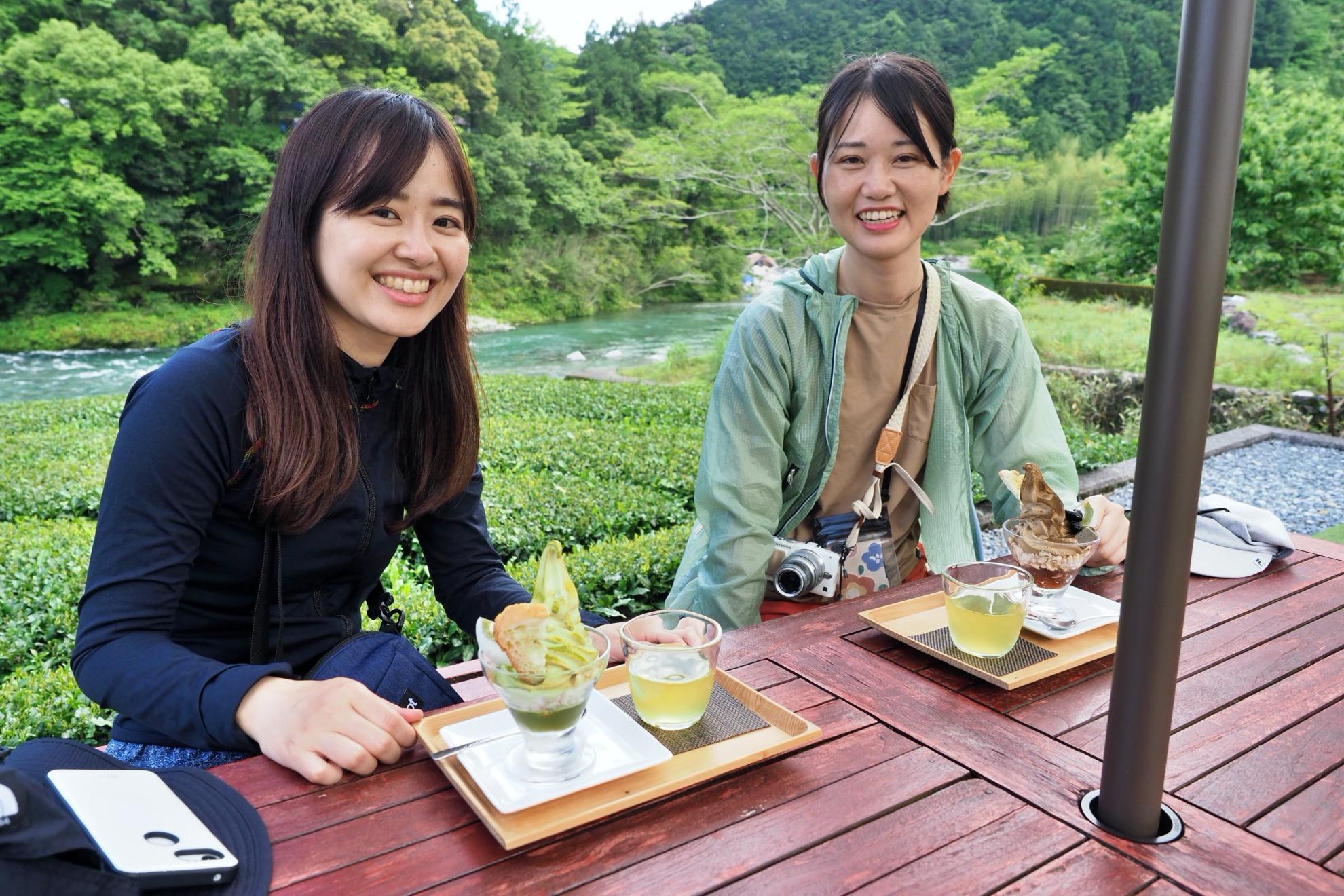 池川茶園 パフェ