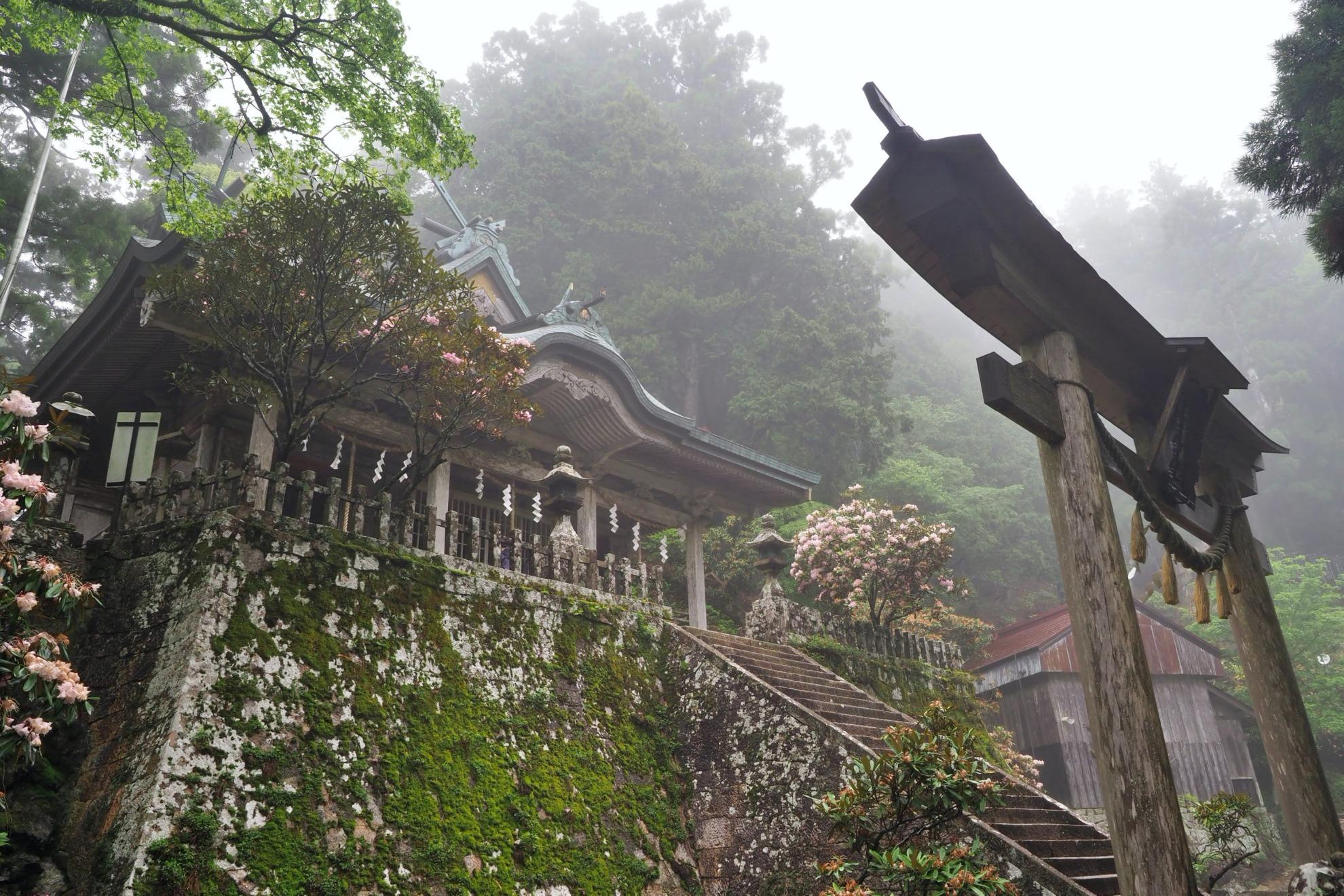 玉置山神社
