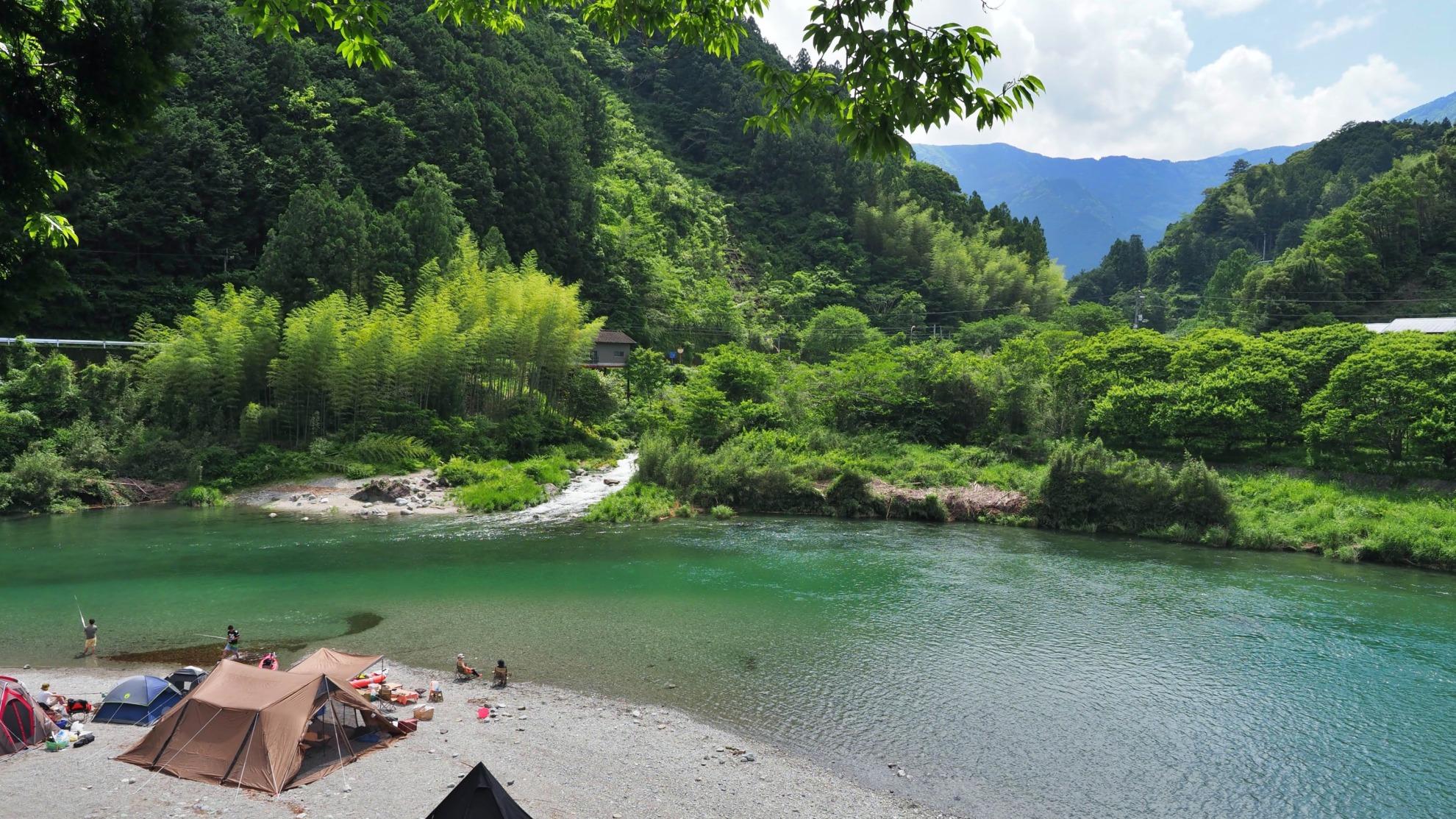 絶景キャンプ場